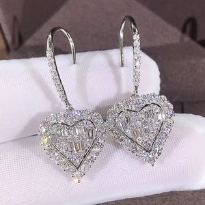 Stunning Baggett Heart Earrings